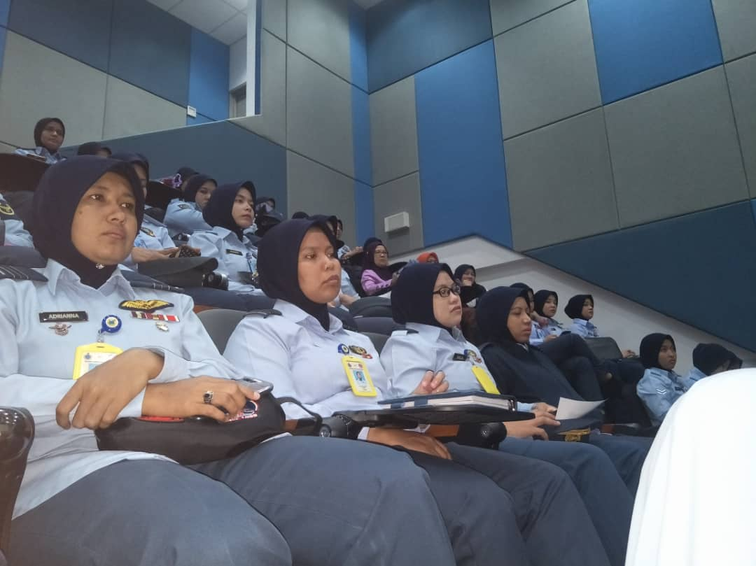 TUDM Subang for Women Airforce in conjunction with International Women's Day