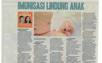 Imunisasi Lindung Anak – HARIAN METRO