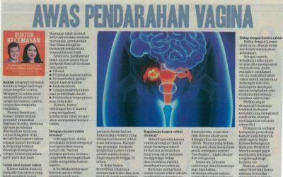 Awas Pendarahan Vagina – HARIAN METRO