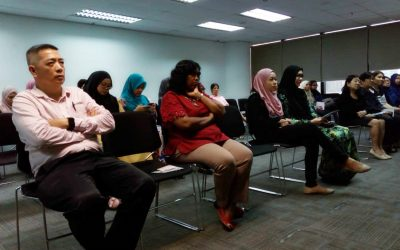 Health Talk For Employees @ Hanson Malaysia, Subang Jaya in Conjunction With National Colon Cancer Awareness Month