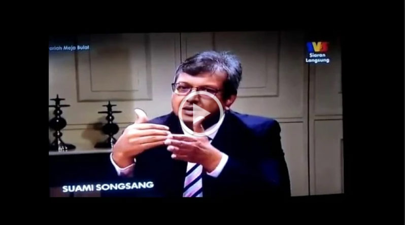 Syariah Meja Bulat live intrview with Dato Dr Rafi at Sri Pentas TV3 (Suami Songsang)